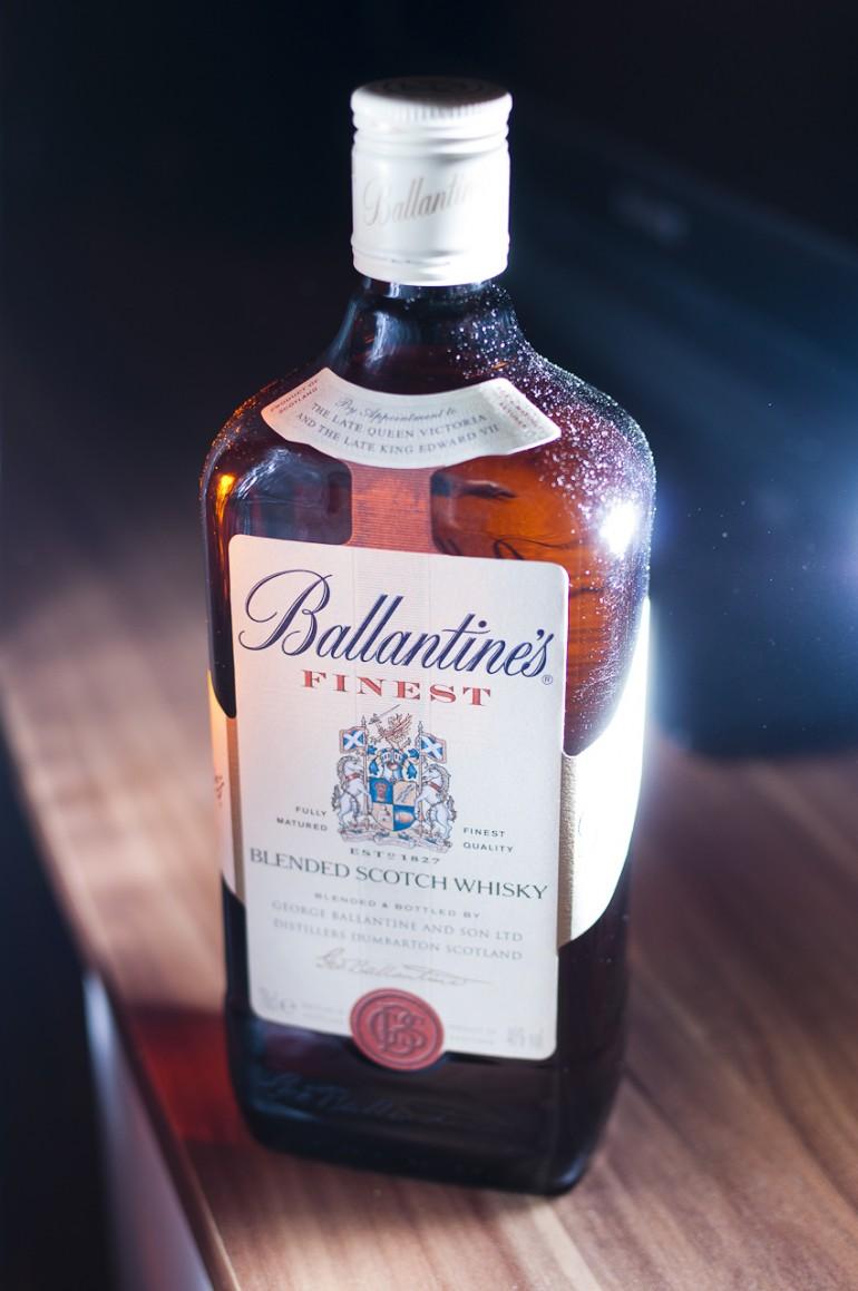 Ballantines whisky
