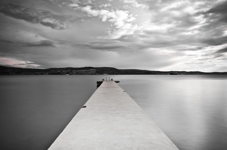 Pier BW