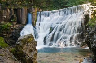 Vintgar Bled waterfall