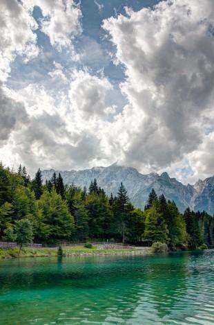 Fusine lakes HDR