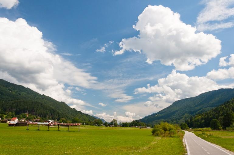 Clouds over Podkoren