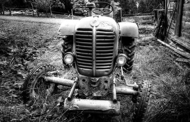 Old Tractor in Österreich