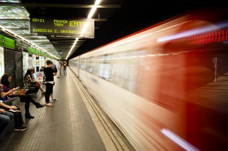 Subway in Barcelona