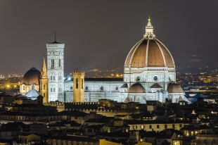 Duomo in Florence by night (explored)